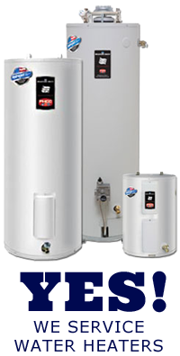 Our Oakland plumbers install and repair water heaters